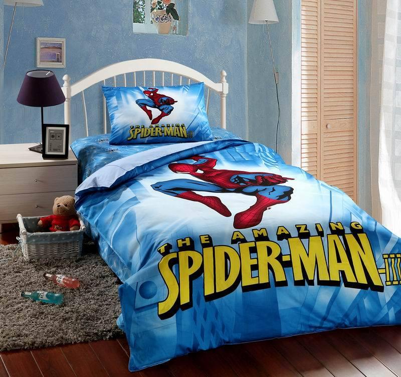 Sale font b spiderman b font font b bedding b font set more suitable