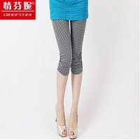 Free shipping Summer thin models big yards Leggings Brand 7 pants Thin outer wear tight