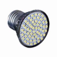 10pcs/lot Hot E27 3528 SMD 60-LED Downlight Light Bulb Warm White 220V For Hotel Office Free Shipping