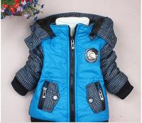 2014 new children's winter coat cotton-padded jacket cartoon children children winter jackets white duck down jacket