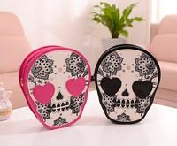 2014 summer new skull print handbags Kito small bag Shoulder Messenger Bag stereotypes