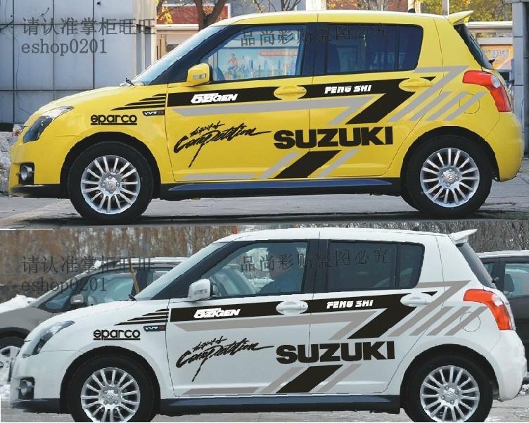 Car Racing Stickers Design Popular Suzuki Racing