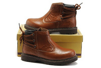 Brand genuine leather Men Winter work Shoes martin safety Boots Thermal protection footwear Size :38-44