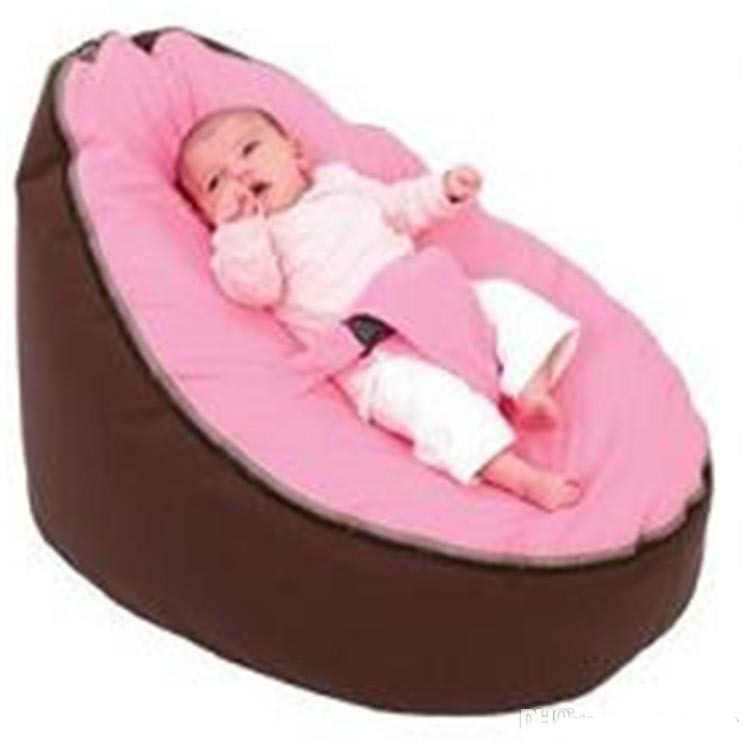 Promotion Baby Pouf Bean Bag Without Filling Baby Seelping