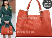 100%genuine leather brand high quality Princess bag embossed leather classic fashion bag ladies' bag