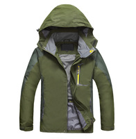 2014 New High Quality Outdoor Brand Men's Single Layer Climbing Outdoor Jacket