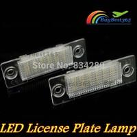 Error Free LED License Plate Light Lamp For Volkswagen Jetta 5 MKV Passat Touran