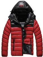 New 2014 winter Men's brand sports cotton-padded clothes,sport down jacket , outwear coat , men's outdoor coats, winter clothes