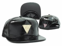 2014 Leather Hater Snapback cap Adjustable Baseball hat for man Leopard Black White Hip Hop Vintage Triangle caps & hats