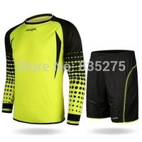 2014 doorkeepers set adult goalkeeper jersey goalkeeper clothing lungmoon shirt soccer jersey