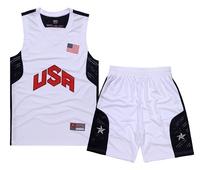Basketball clothes set basketball jersey team usa basketball training service jersey basketball vest jersey