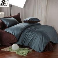 King Queen size solid color bedding set 800TC cotton Fabric bedclothes comforter/quilt/duvet cover sheet pillowcase 4pc bed sets