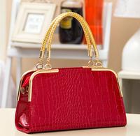 2014 High Quality PU new handbag fashion girls ladies bags Dinner Bag stone grain bride Shoulder Bag for womens free ship hot