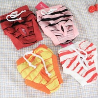2pcs/lot Fashion pet underpants dog physiological anti-harassment menstrual panty briefs Dog pants