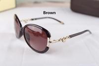 2014 free shipping new  woman fashion sunglasses brand  sunglasses1:1 original quality designer sunglasses with box  T4067B
