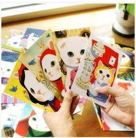 30pcs/lot  Free Shipping! vintage Cute Cats choo Postcards group cartoon Christmas Card/Greeting Card/ Postcard Gift