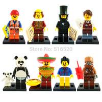 Wholesale The Movie Figures Minifigures Building Blocks Sets Model Bricks Toys For Children