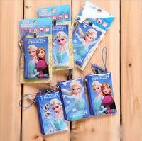 Mini cartoon purse   FROZEN coin pendant storage pouches free shipping