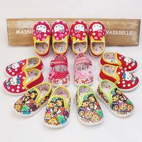 New 2015 Girls Cartoon animals flowers bow baby toddler shoes 11cm 12cm 13cm 14cm spring autumn children footwear Sneakers