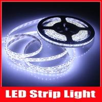 5M/pcs IP65 Waterproof 3528 600 LED Strip SMD Flexible light 120led/m cool white LED stripe free shipping