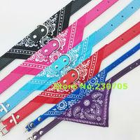 Adjustable Pet collar bow tie dog accessories teddy bear pet supplies Cute Dog Bandana Cat Neckerchief necklace scarf triangle
