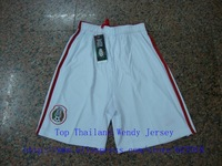 A+++ Thailand 2014 Mexico Original Grade Nation Kit Mexican Home Green Futbol Soccer  Futbol Football Shorts