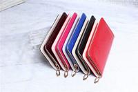 new fashion lady women cool purse clutch wallet simple medium card holder bag PU