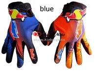 2014 New High quality ktm red/bull cycling gloves motorbike gloves motorcross ATV Off road gloves white/orange color M,L,XL
