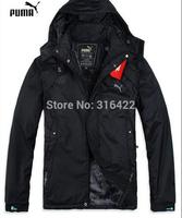 Hot sale 2014 new winter models sport jacket male thin thin cotton fleece warm warm cotton free shipping   A051