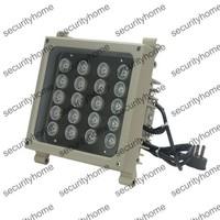 Outdoor 850nm 20PCS 2W High Power IR LED 300m IR Illuminator Weatherproof 30 Degree Auto Day/night Switch IP66