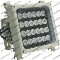 Outdoor 24PCS 2W High Power IR LED 320m IR Illuminator 850nm Weatherproof 54w 30 Degree for CCTV Cameras