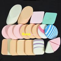 20pcs Pro Face Care Flawless Sponge Powder Puff Make Up Tools Cosmetic Puff Blender Soft Facial Face Sponge Powder Puff NA081