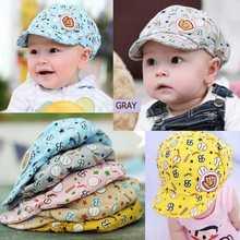1 PCS grátis frete Cool Kids chapéus infantil bebê dos desenhos animados 4 cor Baseball Beret Caps menino bonito menina(China (Mainland))