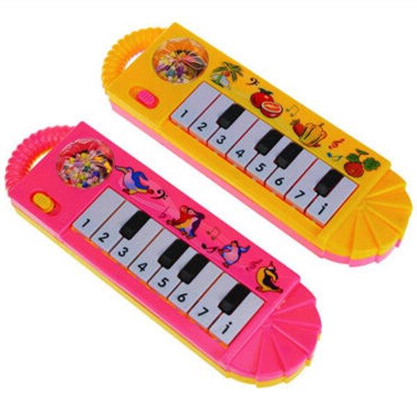 1PCS Free Shipping Children Baby Kid Animal Keyboard Piano Music Toy Useful Developmental Gift Popular 0-7 T(China (Mainland))