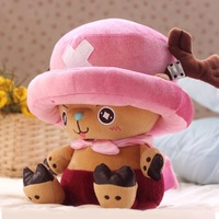 Free shipping hot sale Japan Anime One Piece 35cm doctor Chopper  plush toy Brinquedos Best  Gift For Kid