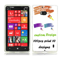 custom design printing hard plastic pc / Silicone Gel Tpu cover case for nokia icon lumia 930 929 Coque Etui Housse free dhl