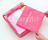 Free shipping Wholesale NEW Organizer Traveling Bag in Bag,  Functional Travel Pouch,  Clothes Bag Case, M#