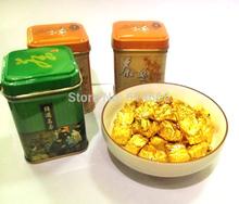 3 gift boxes Ripe Puerh Cha Gao cake shu cha, the tea, puer tea chagao,tea cream lose weight