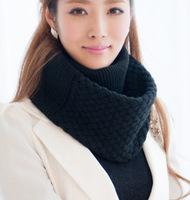 (1piece/lot) Ring Scarf Famous Style Women's Neckerchief New Fashion Winter Warm Mufflers