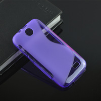 Hot Soft S-Line Wave TPU Gel Cover Case Skin for HTC Desire V1 / Desire 310 D310w