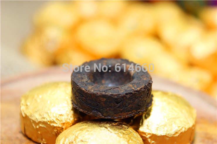 50pcs Ripe puerh tea Yunnan Puer Pu er tea puer tea Free Shipping