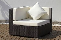 Rattan Wicker Corner Sofa outdoor living garden patio sectional sofas lounge furniture set