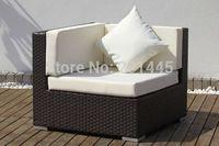 Rattan Wicker Corner Sofa outdoor living garden patio sectional sofas lounge furniture set