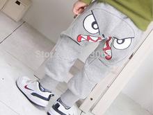 2014 new hot sell Cartoon sports trousers kids, casual boys pants,baby fashion harem pants,children pants(China (Mainland))