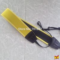 100pcs lot Yellow Neoprene Soft Camera Neck Strap for nikon F60 F70 F80D F90X D100 D300 D1