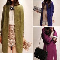 2014 new winter woolen coat long paragraph Korean version of Slim woolen coat female sobretudo trench coat for women  jmn 1816