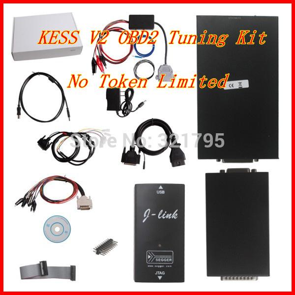 2014 Newest No Token Limitation KESS V2 OBD2 Manager Tuning Kit V2.06 High Quality DHL Free Shipping(China (Mainland))