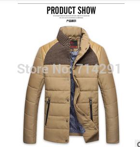 2014 winter men casual sports warm cotton jackets coats for men,man outdoor overcoat,down & parkas,coats & jackets,free shi