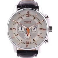 HOT!2014 Fashion Style 30pcs Fast Shipping Automatic Mechanical Mens Watch,JARAGAR Watches Cool,100% Good Quality,LLW-J-1044