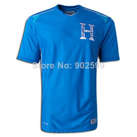 New arrival 14/15 wc Honduras away blue best quality fans version soccer football jersey, Honduras National team jersey